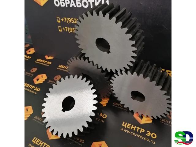 Обработка шлицов, шпоночных пазов, зубчатых колес и реек, по ГОСТу и DINу - 1
